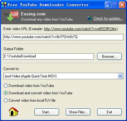 Free YouTube Downloader Converter 2.0